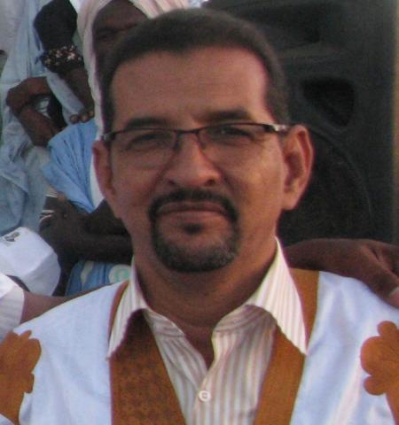 الكاتب الكبير إسلم ولد أحمد سالم