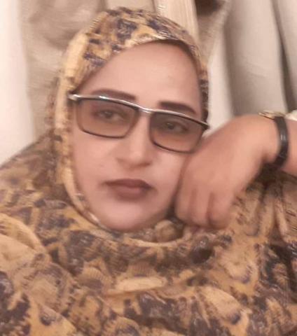 الكاتبة الاعلامية :مغلاها بنت الليلي