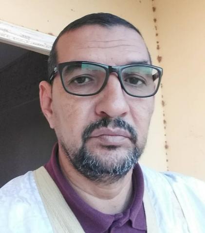 الكاتب الصحفي الأستاذ : إسلمو ولد أحمد سالم