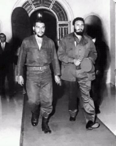 نتيجة بحث الصور عن جيفارا وكاسترو في الأمم المتحدة
