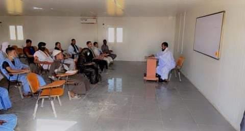 انطلاق التدريس في (جامعة) المحظرة الكبرى في اكجوجت