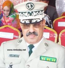 الفريق : السلطان محمد أسواد القائد العام للدرك الوطني