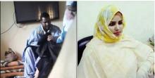الفتاة السالمة منت كنكو رفقة المشعوذ محمد لمين ولد امبيريك