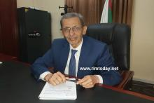 الوزير و السفير السابق : محمد فال ولد بلال