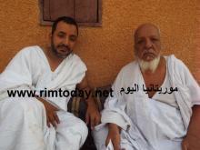 والد الدبلوماسي الاممي إسماعيل ولد الشيخ أحمد و شقيقه
