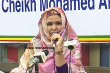 """رئيسة مبادرة """"من أجل الوطن"""" الادارية زينب بنت أحمدناه"""