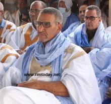 صورة من اجتماع بعثة الحزب الحاكم باطر مقطع لحجار
