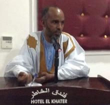 """رئيس مبادرة """" تيار حراك لمعلمين """" الشيخ ولد بيبه"""