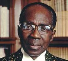 الرئيس السنغال الاسبق سيدار سينغور