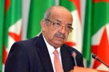 وزير الخارجبة الجزائري، عبد القادر مساهل