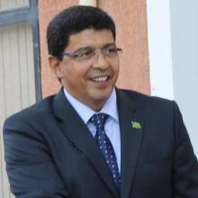رئيس الحزب الحاكم الاستاذ سيد محمد ولد محم