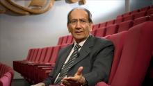 د. فاروق القاسم العالم الجيولوجي العراقي الأصل النرويجي الجنسية.