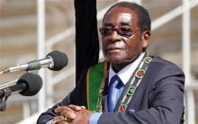 الرئيس الزمبابوي روبرت موغابي