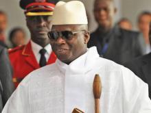 الرئيس الغامبي يحيى جامي