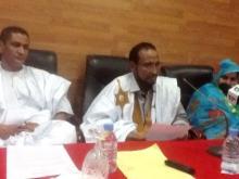 المحاسب الشيخ ولد محمد سيدي في (الوسط)