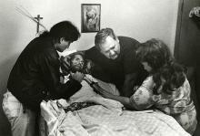 المريض كبربي يحتضر عام 1990
