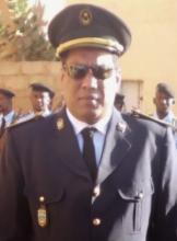 الضابط محمد الامين ولد عمي قائد السرية