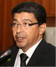 رئيس الحزب الحاكم : سيدي محمد ولد محم
