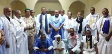 صورة تجمع أطراف الصراع يوم عقد اتفاق الوساطة الموريتانية